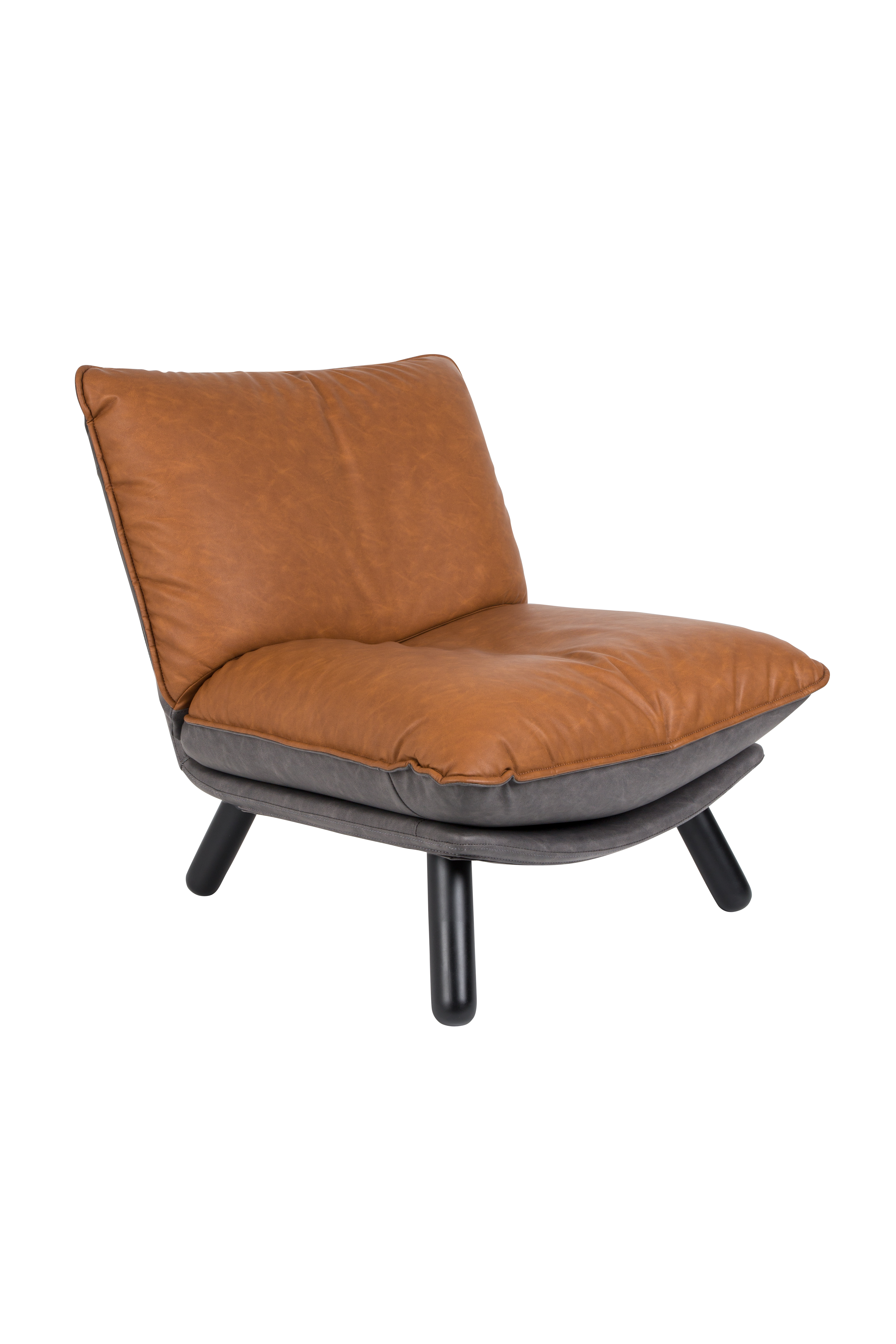Zuiver Lounge Stoel.Zuiver Lounge Chair Lazy Sack Ll Brown Zu 3100043