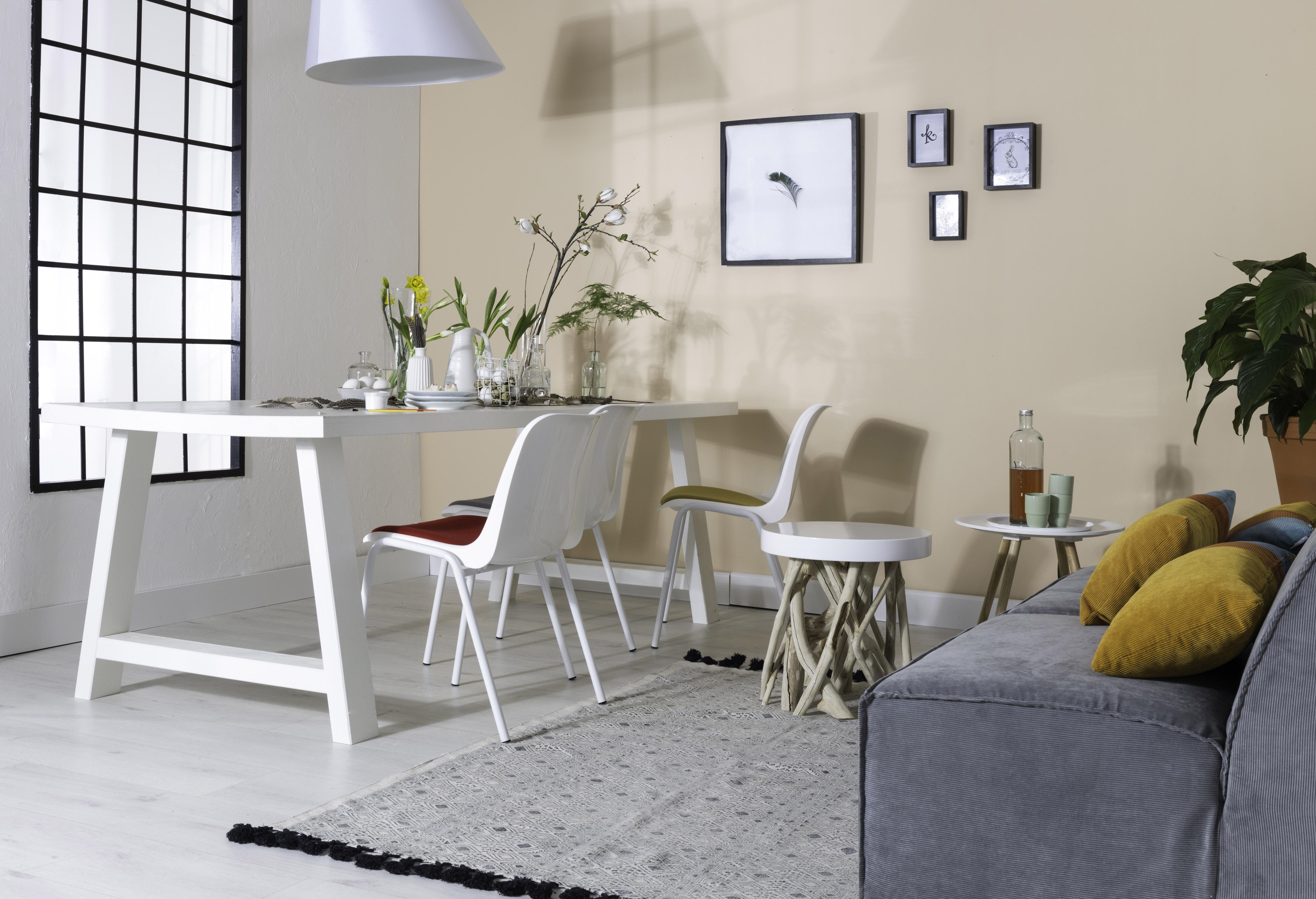 Zuiver Bijzettafel Cumi Glossy Wit.Zuiver Side Table Cumi Glossy White Zu 4000615