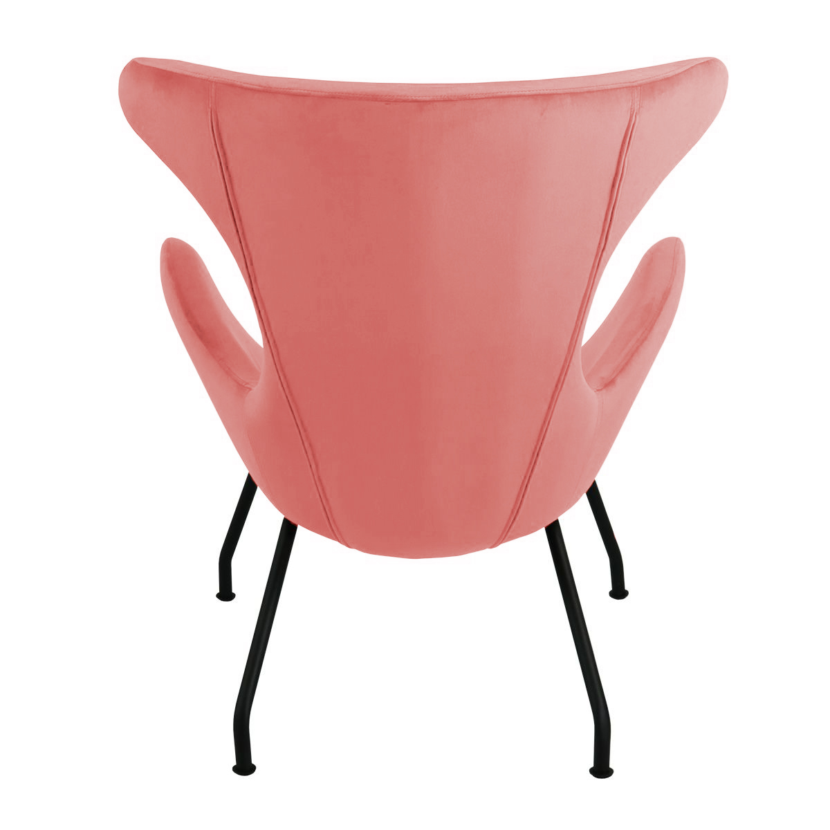 Fauteuil Cup Rood.Kick Fauteuil Billy Roze